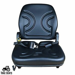 Universal Forklift Seat for Cat, Clark, Komatsu, Nissan, Yale, Toyota, Hyster