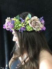 Floral Headband, Head Crown, Hippy, Festival, Bohemian bride, wedding, Prom.