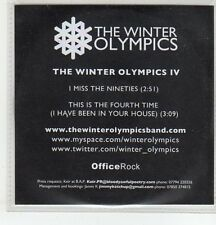 (ER801) The Winter Olympics IV, I Miss The Nineties - 2010 DJ CD