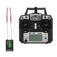 FLYSKY FS-TM10 10CH 2.4GHz AFHDS 2A Transmitter with Receiver for RC Boat C0E5