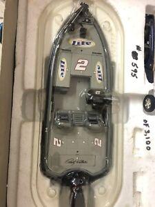 Rusty Wallace 2002 #2 Miller Lite Castaway Ranger Boat And Trailer #00595