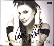 Cecilia BARTOLI Signiert MARIA Malibran VENGEROV Limited Edtion CD Pacini Garcia
