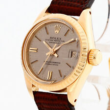 Rolex Oyster Perpetual Lady Datejust 18 K amarillo oro REF. 6917
