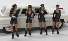 4 x Figuren ( Costume Babe , Girls ) American Diorama 1:24