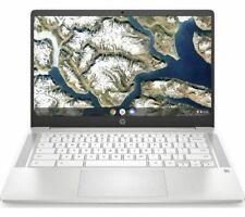 """HP 14A-NA0500SA 14"""" Intel Celeron N4000 Chromebook 64 GB eMMC 4GB RAM - White"""