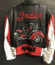 Original Gilroy Indian  Leather Jacket Jeff Hamilton 1of1ORIGINAL SAMPLE