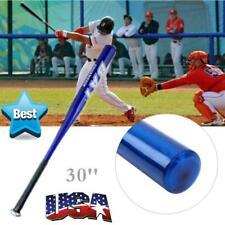 """NEW Aluminum Metal Baseball Bat Racket Softball Outdoor Sport 30"""" Inch Blue USA"""