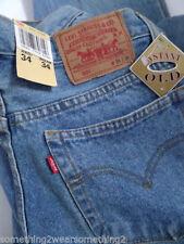 Levi's Stonewashed Long Cotton Jeans for Men