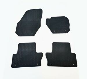 Rugged Rubber Floor Mats Tailored for Volvo XC60 2009-16 1st Gen OEM Shape
