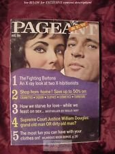 PAGEANT Magazine August 1970 Elizabeth Taylor Richard Burton John Wayne