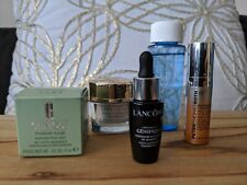 Fun mix of travel size anti aging products Lancome Estee Lauder Clinique & more