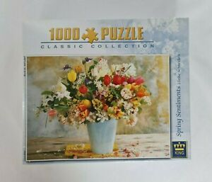 New - Spring Sentiments Ulrike Schneiders Jigsaw Puzzle Floral Art 1000 Pieces