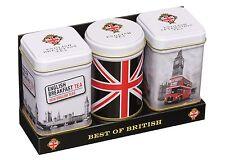 NUOVO tè inglese Best Of British Mini Scatole Regalo Confezione Tè allentato 70 G-mt23