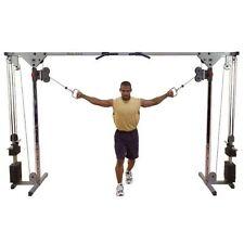 Cable Crossover von Body Solid mit 2 x 75 kg Gewichtspaket