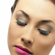 Black Eyelashes with Diamante