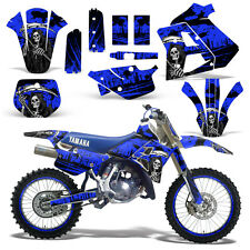 Yamaha Graphic Kit WR 250Z Dirt Bike Decal w/ Backgrounds WR250Z 91-93 REAP BLUE