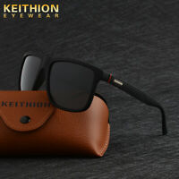KEITHION Square Fashion Polarized Men Sunglasses Driving Sports Outdoor Eyewear