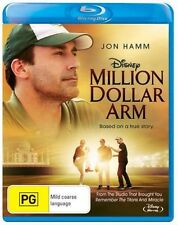 Million Dollar Arm - Disney BLURAY Region &