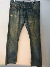 diesel viker 31X34 008GZ wash Regular Straight jeans