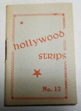 Hollywood Strips Booklet No. 13 Netherlands Maple Leaf Bubble Gum Premium