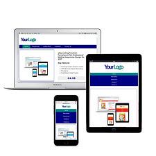 eBay Listing Auction Templat HTML Responsive Mobile Shop Navy Design Templates
