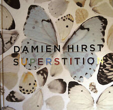 DAMIEN HIRST Superstition SIGNED/ AUTOGRAPHED 1st Edit HB Book GAGOSIAN GLR mint