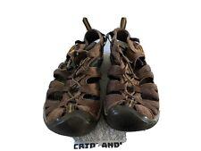 EU 42 Men/'s Leather Sandals Brown Keen Reisen Fisherman Size US 9 M D