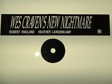 Wes Craven's New Nightmare Movie Trailer and Mylar Combo