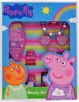 Peppa Pig 11 Pièce Cheveux Et Beauté Accessoires Set Jeu de Rôle Enfant 95002