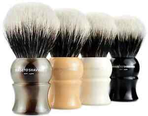 MASETO Baron 4-Color 24mm Extra Density 2 Band 100% Finest Badger Shaving Brush