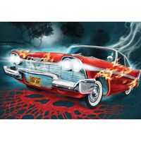 5D Full Drill Diamond Painting Embroidery Cross Stitch Kits Wall Decors Red Car