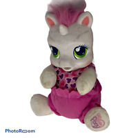 "🍊 Hasbro My Little Pony Sweetie Belle So Soft Newborn Talking Plush 9"" 2008 EUC"