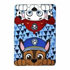 Paw Patrol Chase and Marshall Polar Fleece Blanket for Children - Multicoloured