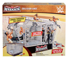 WWE Wrekkin Collision Cage Ring Steel Cage Playset NEW