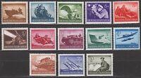 Stamp Germany Mi 873-85 Sc 257-69 1944 WW2 3rd Reich Wehrmacht MNH