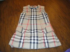 BURBERRY GIRLS 6Y/116 6 GORGEOUS DRESS