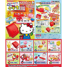 Re-Ment Miniature Sanrio Hello Kitty Student Stationery Applicance Full set of 8