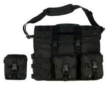 Wholesale lot of 6 Black Military Travel Tactical Laptop Computer Bag Case