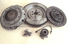 FOR VAUXHALL SIGNUM 1.9 CDTi M32 DUAL SOLID MASS FLYWHEEL CLUTCH KIT CSC Z19DT