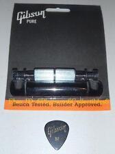 Gibson Tailpiece Stop Black Guitar Parts Les Paul SG ES Custom Explorer Firebird