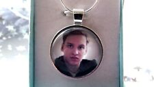 GEORGE EZRA PHOTO  SINGER  SILVER PLATED 22 INCH SNAKE NECKLACE GIFT BOXED PARTY