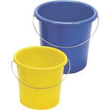 Haushaltseimer Eimer 5 Liter Kunststoff mit Metallbügel Putzeimer Wassereimer