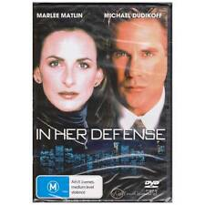 DVD IN HER DEFENSE Marlee Matlin Michael Dudikoff 1999 Thriller Drama R4 [BNS]