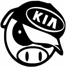 ANGRY PIG DECAL KIA K5 OPTIMA FORTE vinyl car window decal sticker BUY1GET1FREE!