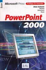 "Fachbuch ""PowerPoint 2000"", Microsoft Press Verlag (_814)"