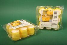 Teelicht Citronella Teelichter Teelichte Cup Candle Stövchenlicht 18er Packung