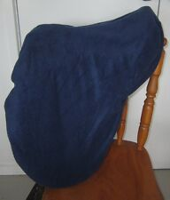 Horse Saddle cover Bridlebag & Free hatbag also FREE EMBROIDERY Navy blue