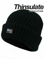 Sombrero negro de invierno de hombre Rockjock aislamiento térmico Casual Beanie Extra Cálido