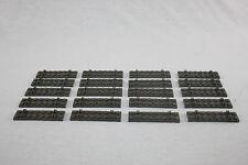 Lego® Eisenbahn Schwellen grau Bahnschwellen für 12V Schienen 20 Stück