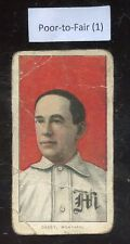 "1909-11 T206 Doc Casey Montreal Piedmont Back Poor To Fair Condition ""A"""